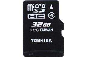 ΚΑΡΤΑ ΜΝΗΜΗΣ MICRO SD HC TOSHIBA 32GB